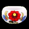 Kép 1/2 - Fehér kalocsai porcelán gyűrű