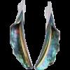 Kép 2/2 - Zöld titánium fülbevaló – GFEM