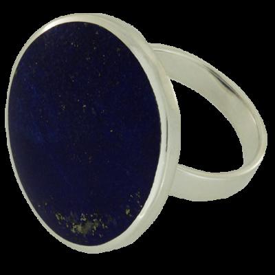Ezüst gyűrű lápisz kővel
