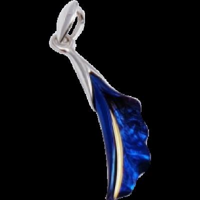 Kék titánium kicsi medál – FPS