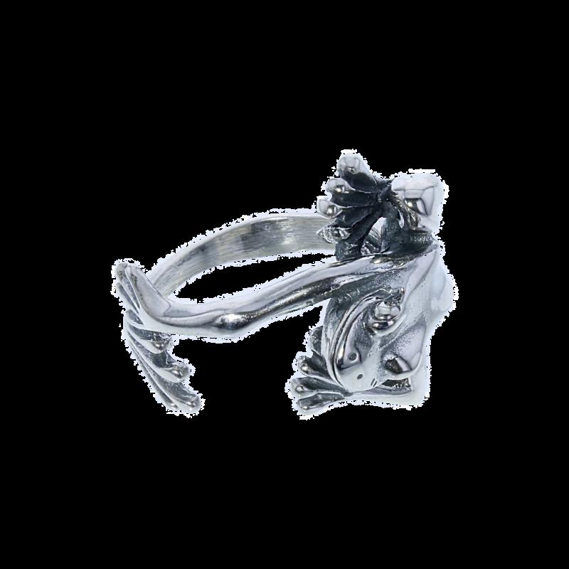 Béka gyűrű