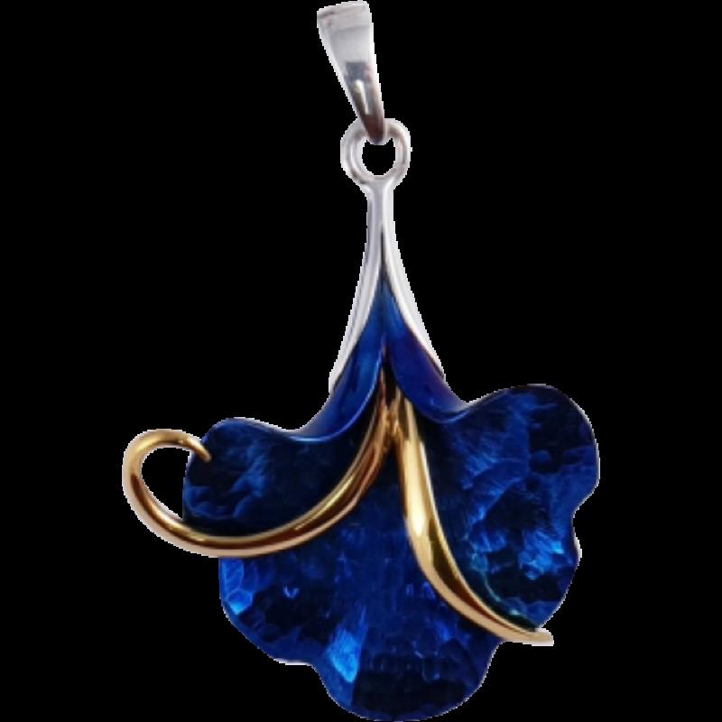 Kék titánium medál – HP