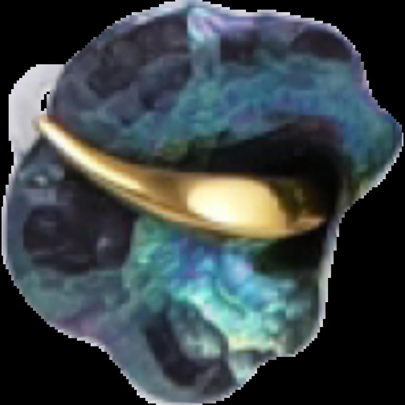 Zöld titánium gyűrű – GBR