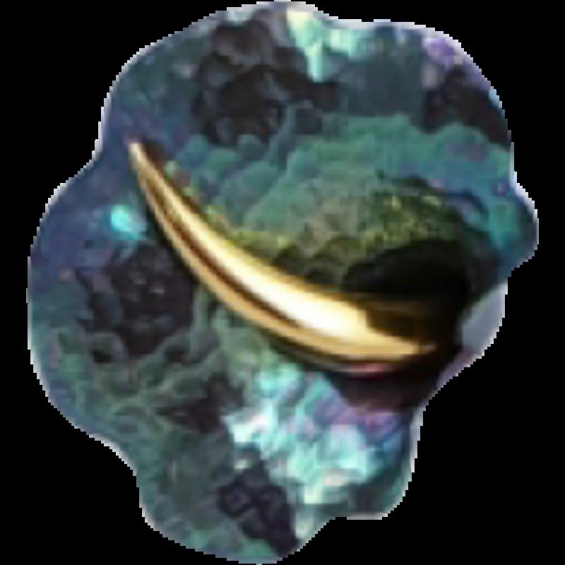 Zöld titánium gyűrű – GBRXL